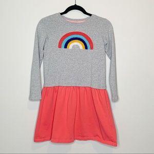 Hannah Andersson Rainbow Dress Girls Size 150/10
